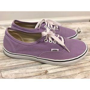 Purple Vans Tennis Shoes Size 10